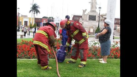 Trujillo: Fuga de gas generó tensión en céntrico café