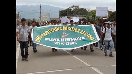 Moyobamba: ronderos se movilizan por las calles aclamando seguridad