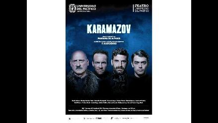 El Teatro de la Universidad del Pacífico presenta Karamazov