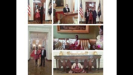 Lupita Nyong'o visitó la Casa Blanca