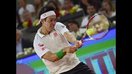 Japonés Nishikori será el rival de Nadal en la final del Masters de Madrid