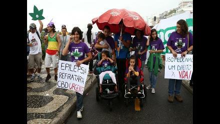 Brasil: Familiares de enfermos participan en Marcha de la Marihuana