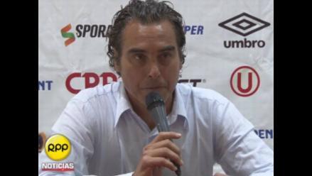 José Del Solar aseguró que tiene en mente dos refuerzos para Universitario