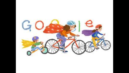 Con tierno doodle, Google rinde homenaje a las madres en su día