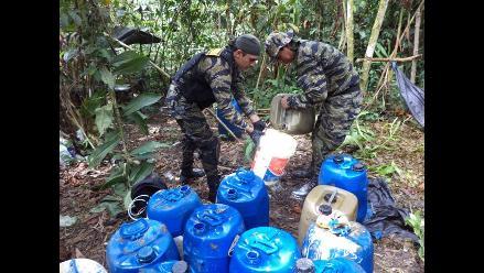 Ucayali: agentes antidrogas decomisan 320 kilos de alcaloide de cocaína