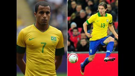Filipe Luís y Lucas Moura en lista de reserva de la selección brasileña