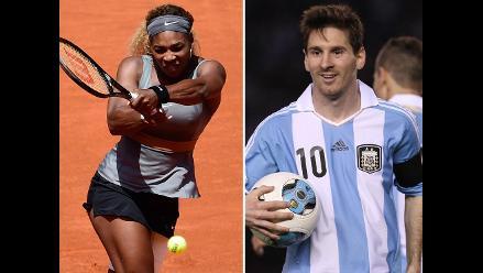 Serena Williams alienta a Brasil y prefiere a Lionel Messi en el Mundial