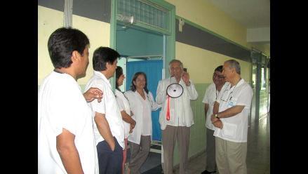 Loreto: médicos evalúan realizar manifestaciones por las calles