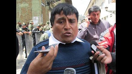 Cajamarca: dirigente ambiental asegura que PNP les sembró dinamita