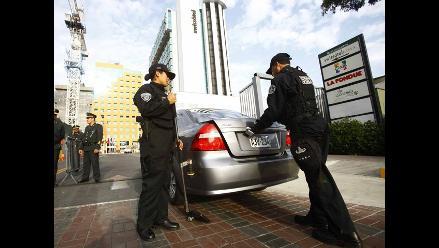 Frustran asalto a agencia de banco en Plaza Vea del Callao