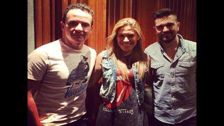 Juanes y Fonseca desearon suerte a Mia Mont