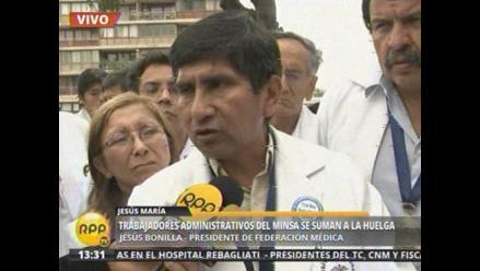 Federación Médica: Sueldo por onomástico hoy no es tema de agenda
