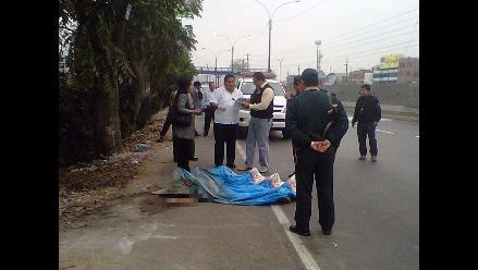 Canillita de 75 años murió arrollado por camión cuyo conductor se fugó