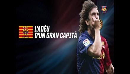 Barcelona y el emotivo video en homenaje a Carles Puyol