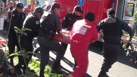 Arequipa: trabajador de la SEAL cayó desde lo alto de un poste