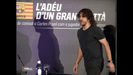 Puyol confía que Barcelona será el campeón de la liga española
