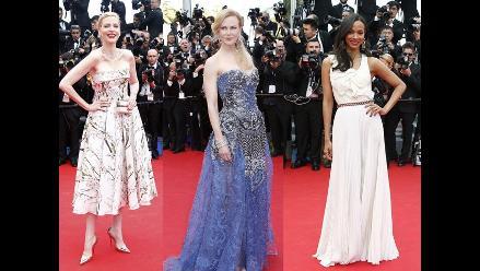 El top 10 de las mejores vestidas del Festival de Cannes