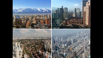 Sudamérica: Ranking de países según calificación de Standar and Poor´s