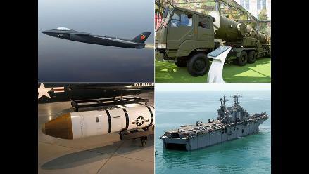 Las cinco armas chinas temidas por EEUU