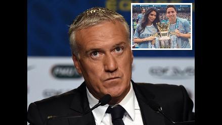 Técnico de Francia denuncia por injurias a la novia de Nasri