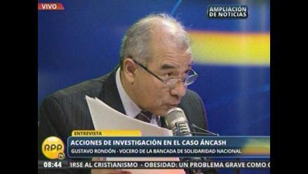 Rondón: Archivado informe de Fiscalización no exculpó a César Álvarez