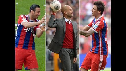 ¿Pizarro se queda? Pep Guardiola a Mandzukic: Suerte en tu próximo equipo