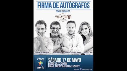 Elenco de La vida es sueño firmará autógrafos en Lima Norte
