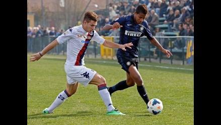 Andy Polo fue convocado al primer equipo del Inter de Milán