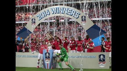 Arsenal vence a Hull City y se consagra campeón de la Copa FA