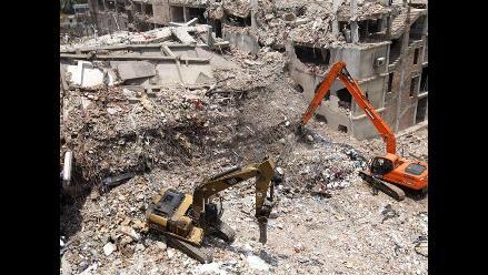Se hunde un edificio de 23 plantas en Pyongyang