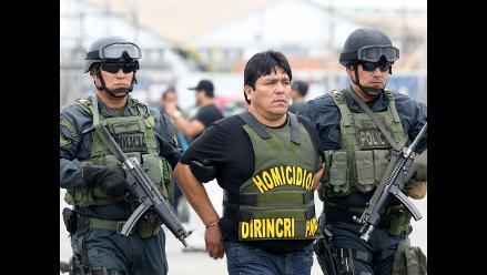 Llegan a Lima nueve implicados en el asesinato de Ezequiel Nolasco