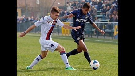Con Andy Polo en banca: Inter cayó 2-1 ante Chievo Verona por Serie A