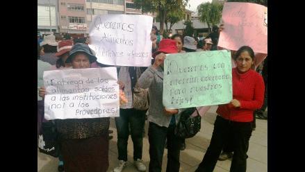 Huancavelica: afirman que escolares no reciben alimentos de Qali Warma
