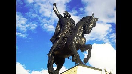 Cusco: rinden homenaje en memoria a Túpac Amaru II