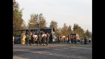Reducen a 18 el número de muertos en un accidente de autobús en Brasil