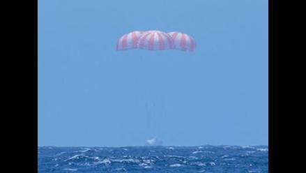 Cápsula Dragon regresó con material científico crucial para la NASA