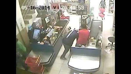 Trujillo: PNP tras delincuentes que robaron S/. 15 mil en Plaza Vea