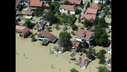 Los Balcanes se inunda: 41 muertos y miles de evacuados
