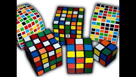 El cubo de Rubik y sus otras presentaciones