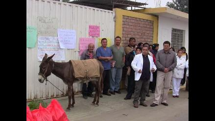 Ica: trabajadores del Clas toman instalaciones de nosocomio