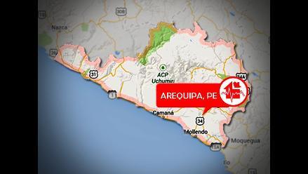 Arequipa: Sismo de 4,1 sacudió el distrito de Chala