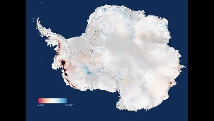 Satélite Cryosat confirma que el deshielo se ha duplicado en la Antártida
