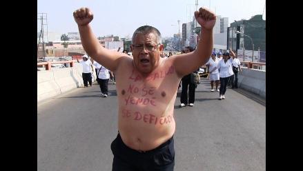 Trujillo: dos mil trabajadores asistenciales de Salud radicalizan huelga