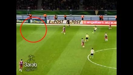 Afirman ver fantasma en la final entre Bayern Munich y Borussia Dortmund