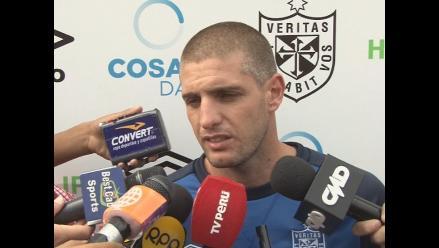 Marinelli: No me importa lo que haga Alianza, yo confío en mis compañeros