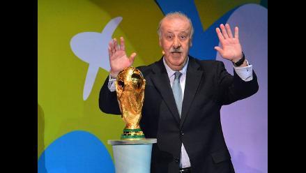 Vicente Del Bosque: Llevaré a Brasil a los que nos van a hacer ser mejores