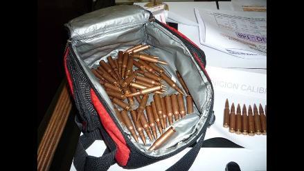 Huacho: encuentran municiones en casa de implicado en caso Nolasco