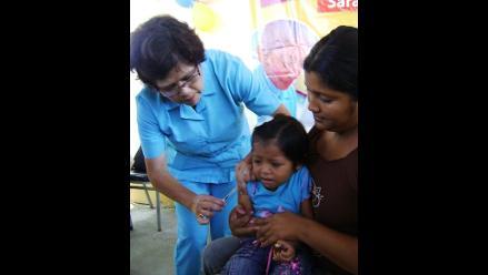 Arequipa: llegarán las primeras 5 mil dosis de vacuna contra la polio