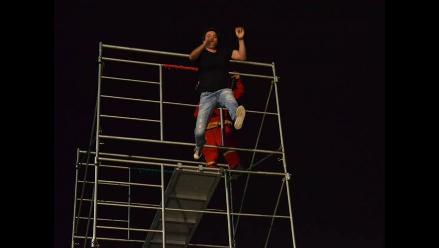 Así fue el salto de Renzo Schuller y Gian Piero Díaz