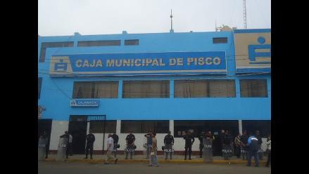 Intervienen Caja Municipal de Pisco por cuantiosa pérdida de dinero